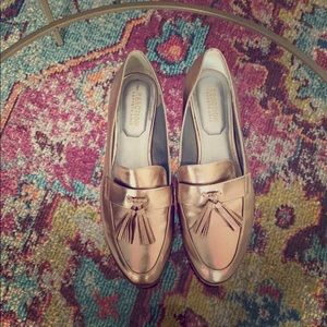 Rose Gold Kenneth Cole Loafers